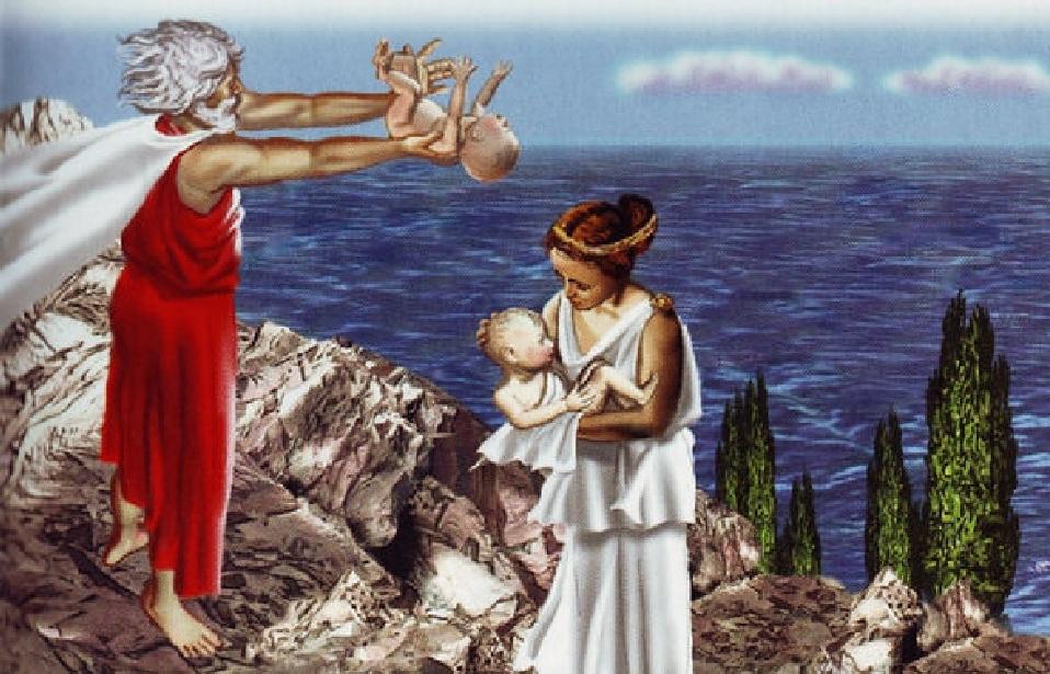 не прошедшие медосмотр в Спарте сбрасывались со скалы